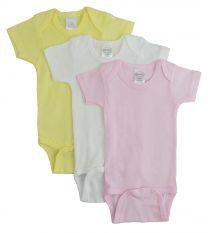Bambini Pastel Girls Short Sleeve Variety Pack