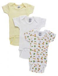 Bambini Boys Printed Short Sleeve Variety Pack