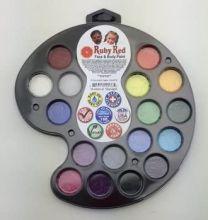Face Paint, 2ML X 16 Colors - Artist Palette (PALART16)