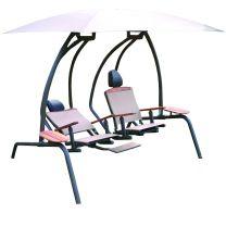 The Ultimate Dual Recliner Swing Set