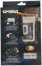 Rechargeable Pocket Palm Shaver, Black