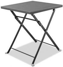 Flint Indoor/Outdoor Steel side table with powder-coating  finish