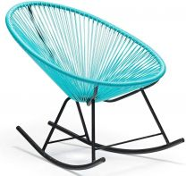 Grayson rocking chair blue