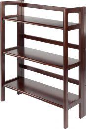 Terry Folding Bookcase Walnut