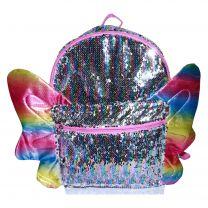 Sequin Full Size Deluxe School Bag or Travel Backpack
