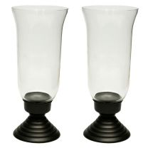 Traditions Collection Hurricane Chimney Candle Holder (Set of 2)
