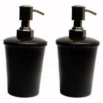 Collection Soap Lotion Dispenser Refillable (Set of 2)