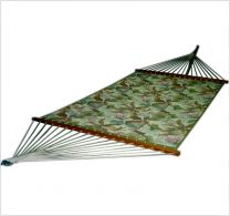 Quilted Floral Green Hammock