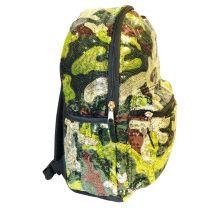 "Camo Sequin Backpack Deluxe School Bag or Travel Backpack 16"""
