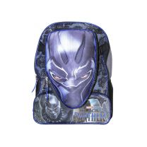 Black Panther Deluxe School Bag or Travel Backpack with Lunch Bag