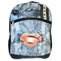 Marvel Batman vs Superman Backpack Deluxe School Bag