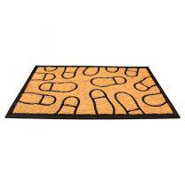 FootprintFloor mat Indoor Outdoor Rubber/Coir Multiple Sizes