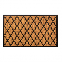 Lattice Floor mat Indoor Outdoor Rubber/Coir Multiple Sizes