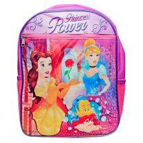 "Disney Princess Belle Cinderella Ariel Girls Backpack 15"""