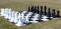 CNChess Garden Chessmen on Board