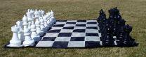CNChess Garden Chessmen on Mat