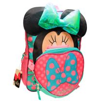 """Minnie Mouse 16"""" School Backpack With Detachable Lunch Box Set"""