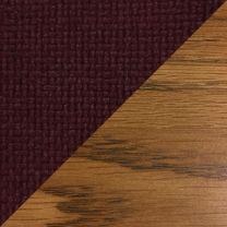 Dakota Wave™ Three Seat Bench, Cabernet Burgundy, Medium Oak