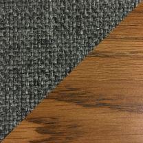 Dakota Wave™ Three Seat Bench, Charcoal Grey, Medium Oak