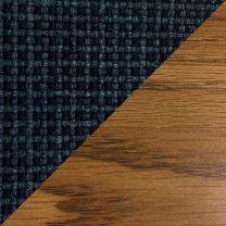 Dakota Wave™ Three Seat Bench, Powder Blue, Medium Oak