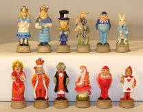 Alice in Wonderland Chessmen