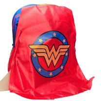 DC Comics Wonder Woman School Bag with Detachable Cape 16 inches
